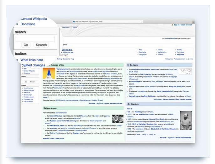 exemple de recherche wikipedia