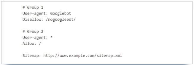exemple fichier robots txt