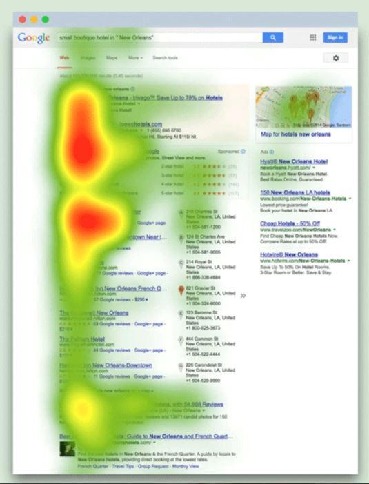meilleure position contenu web