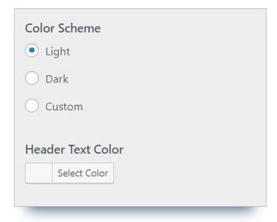 modifier couleur thème wordpress